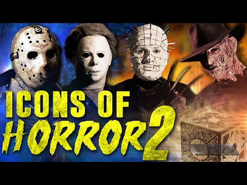 Icons of Horror 2 (2017) Pinhead vs Freddy vs Jason vs Michael vs Candyman vs Wesker vs Harley Quinn