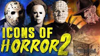 Icons of Horror 2 (2017) Pinhead vs Freddy vs Jason vs Michael vs Candyman vs Wesker vs Harley Quinn