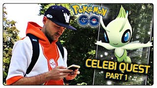 QUEST NA CELEBI W POKEMON GO - CZĘŚĆ 1 - STORY MODE