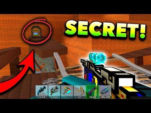Top 10 NEW Secret Locations! (Pixel Gun 3D)
