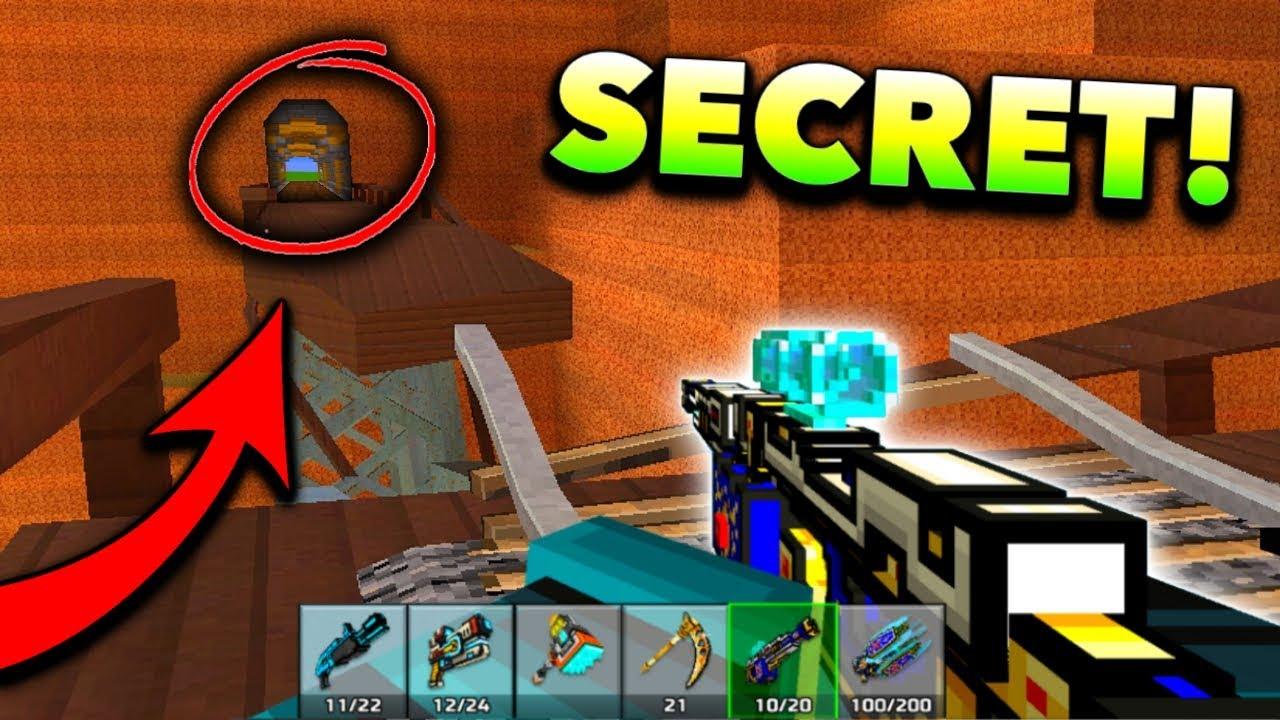 Top 10 NEW Secret Locations! (Pixel Gun 3D) - YouTube