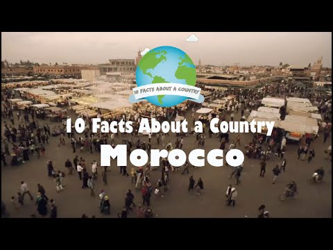 10 Facts About a Country  Morocco