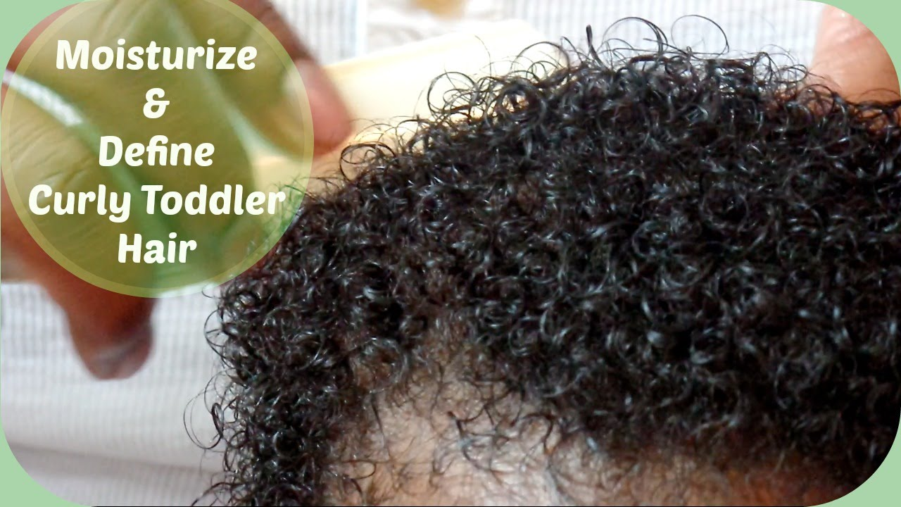 How To Moisturize Amp Define Toddler S Curly Hair Simple