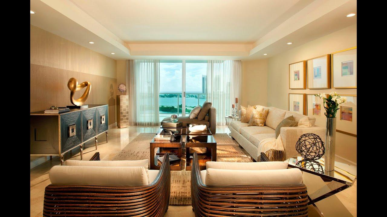 Luxury Modern Dining Room Living Room - Interior Design ...
