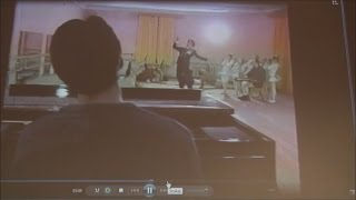 С.Курёхин и некрореалисты. Фрагмент репетиции / CAMRip