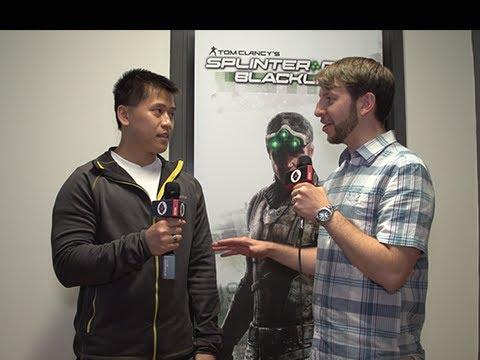 Splinter Cell Blacklist Gameplay - Interview with Zack Cooper Ubisoft Toronto