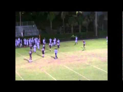 #6 Fred Taylor Palm Beach Lakes High School Highlights with music