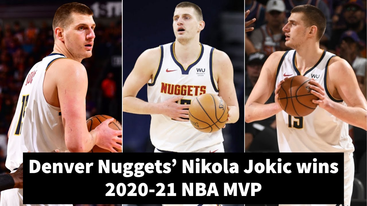 Nuggets' Nikola Jokic named NBA MVP for 2020-21 season