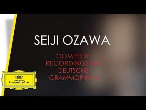 Seiji Ozawa - Complete Recordings on Deutsche Grammophon (Trailer)