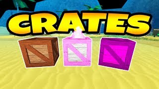 Treasure Hunt Simulator Update! (Crate Opening & More) Roblox