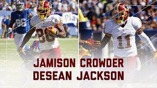 DeSean Jackson & Jamison Crowder Highlights (Week 3) | Redskins vs. Giants | NFL