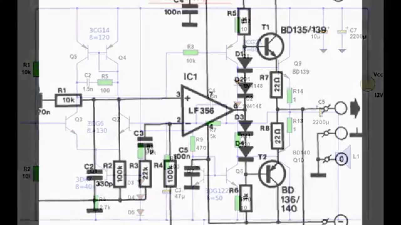 Audio Power Amplifier Circuit Diagram T Tube Otl Headphone Amplifiercircuit