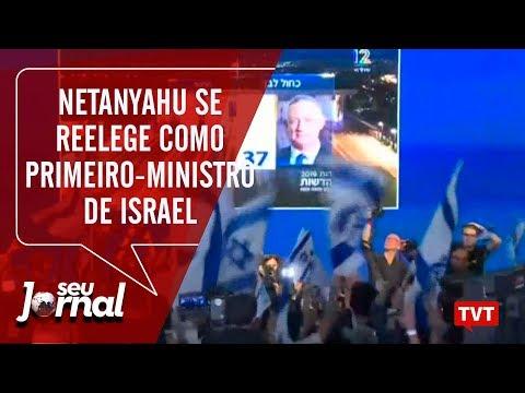Benjamin Netanyahu Se Reelege Como Primeiro-ministro De Israel