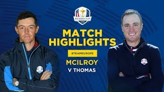 McIlroy vs Thomas | Ryder Cup Sunday Singles Highlights