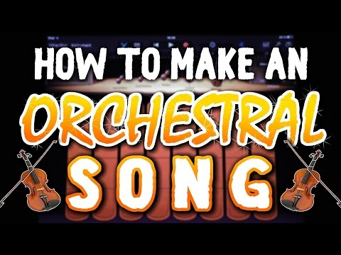 How to make a Powerful Orchestral Song in Garageband (iPad & iPhone)