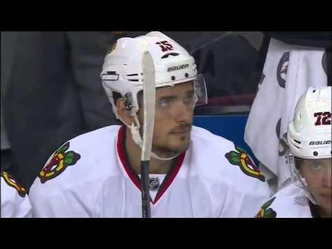 Anisimov goal Chicago Blackhawks  - Calgary Flames NHL 20.11.15