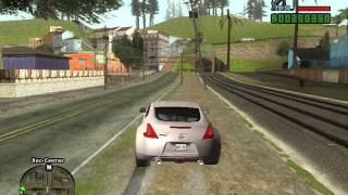 Игра в GTA Sandres Need For Speed!.(Паркур)