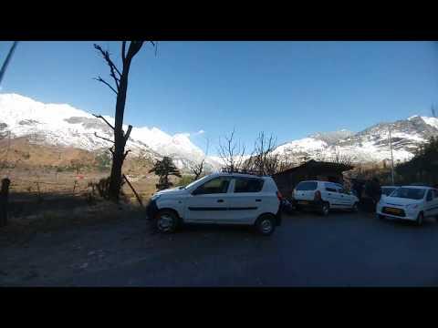 Snow Mountain view India. MANALI