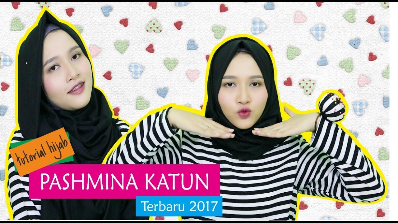 Tutorial Hijab Pashmina Katun Terbaru 2017 Amalia Kurnia