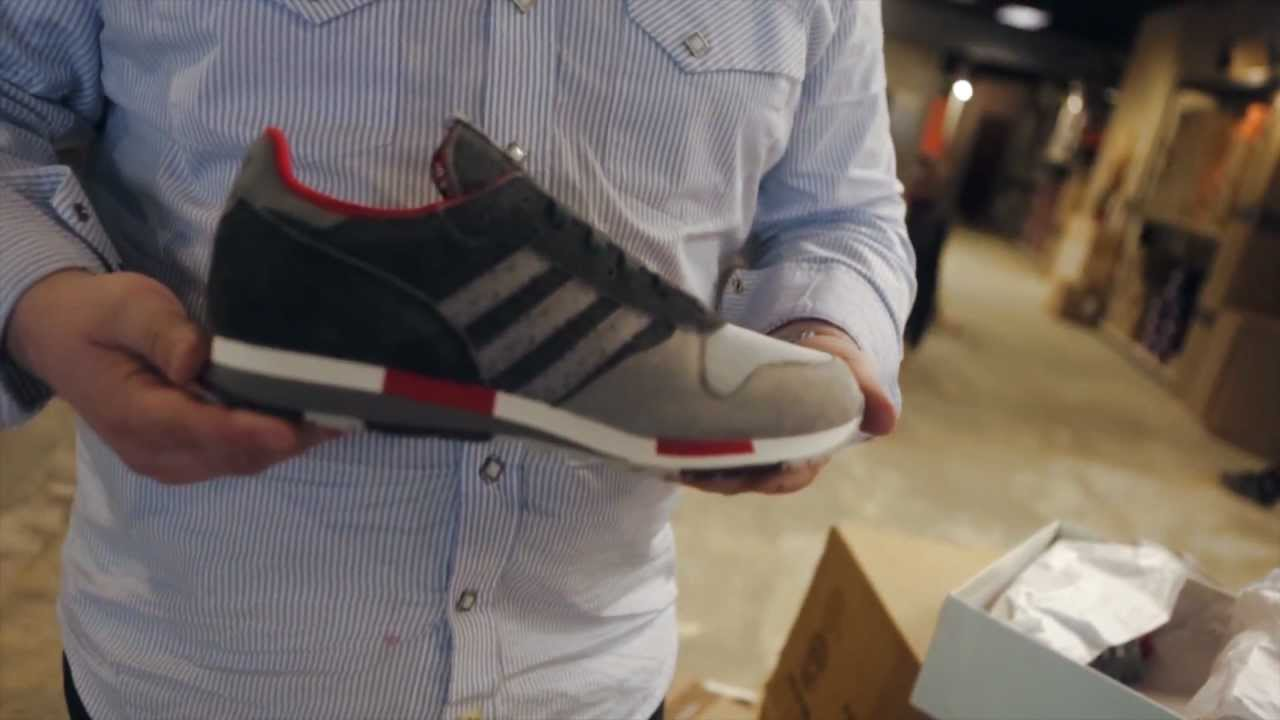 c6263f32f Hanon x Adidas Consortium CNTR- Live Look - YouTube