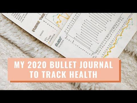 Minimalist Habit Tracker: My 2020 Bullet Journal To Track Health | Lucie Fink