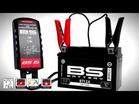 Παρουσίαση Φορτιστής Μπαταρίας BS Battery BS15