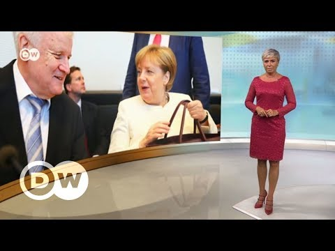 Беженцы в Германии: как Меркель ужесточит миграционную политику - DW Новости (03.07.2018) - Видео онлайн