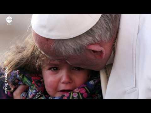 Las lágrimas del Papa