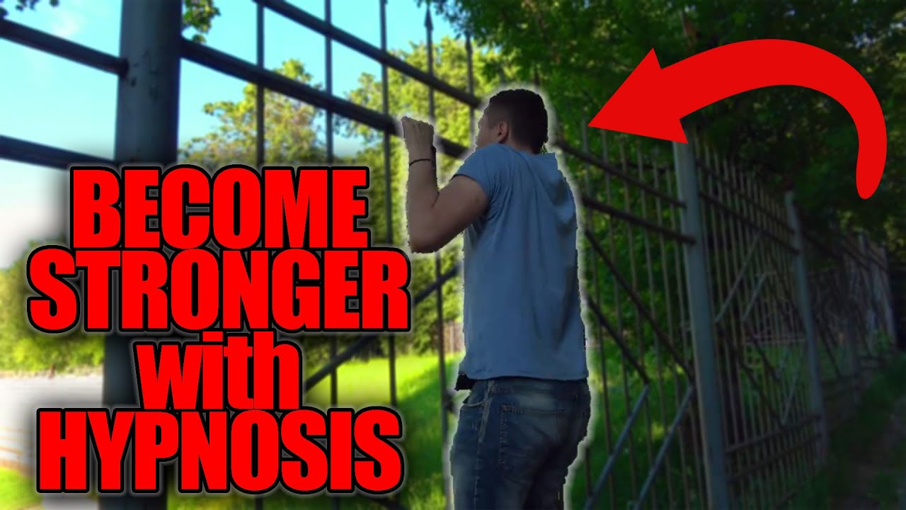 HYPNOSIS TO BECOME STRONGER / STREET HYPNOSIS