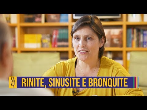 Rinite, sinusite e bronquite | Elnara Negri