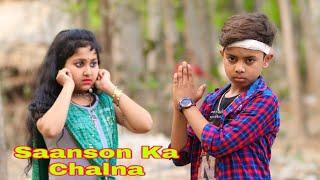 Saanson Ka Chalna Tham Sa Gaya / Heart Touching Love Story / Hindi Songs / Love Creation /