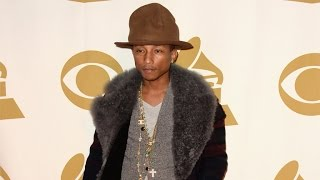 Remember Pharrell's Giant Hat? Here's How He Plans to Top It!