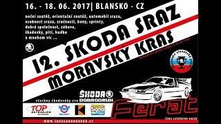 12. Škoda sraz Moravský kras 2017