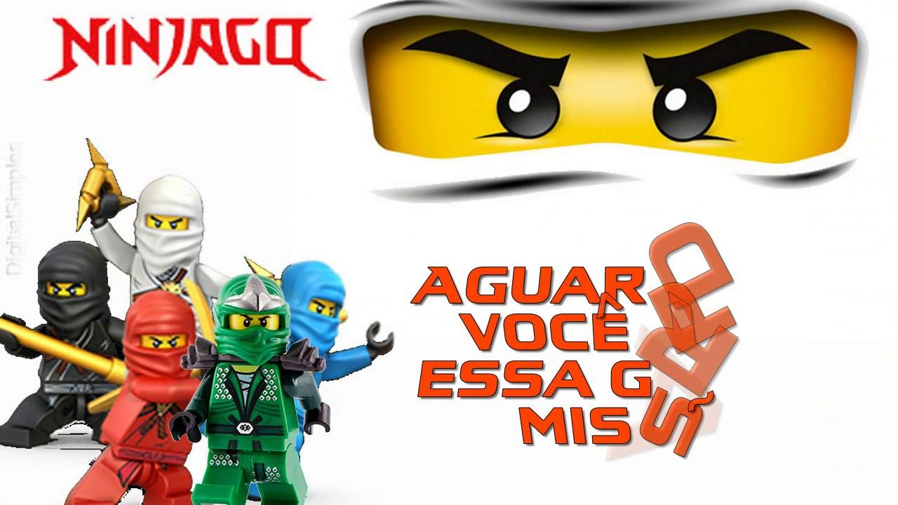 Convite Ninjago Youtube
