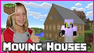 Moving into a New House in Minecraft
