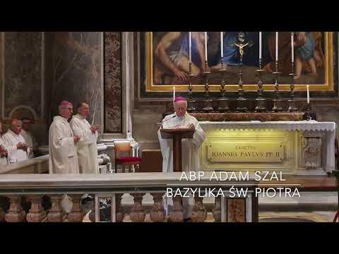 Abp Szal: św. Jan Paweł II i bł. kard. Wyszyński są dla nas darem i zadaniem [7.10.2021]