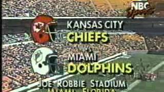 NBC Football intro - December 1989 (The Miami Ice Bowl)