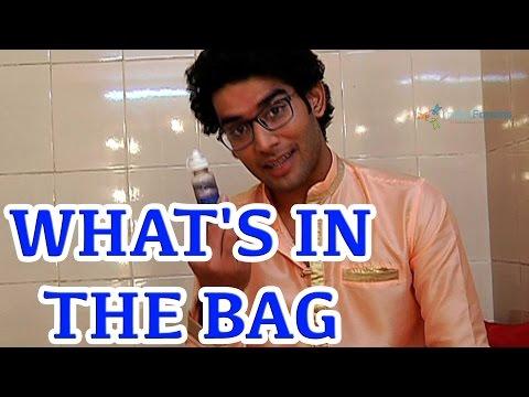 What's in the bag of Priyanshu Jora?