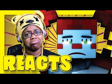 Trust Me | Minecraft FNAF SL Music Video Reaction