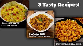 3 EASY Recipes to TRY - CookingShooking