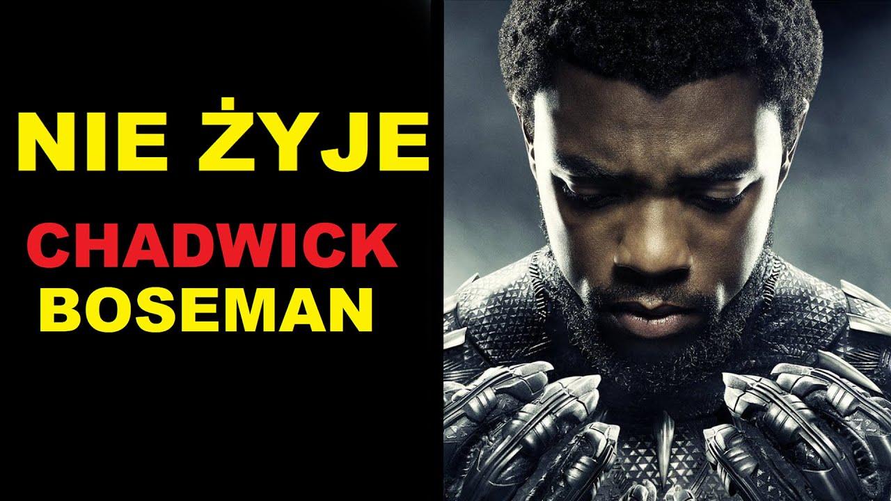 Aktor grający Czarną Panterę w filmach Marvela, Chadwick Boseman nie żyje