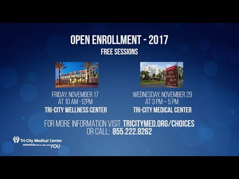 TCMC Open Enrollment 2017