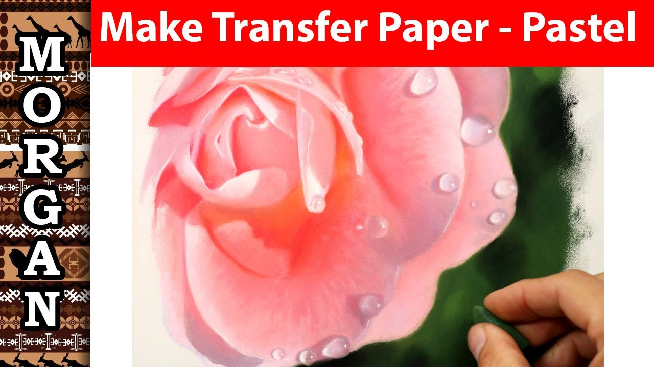 Make your own transfer paper - any color