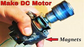 Make a 48V high torque DC Motor from a 250V Blender/Drill Motor DIY