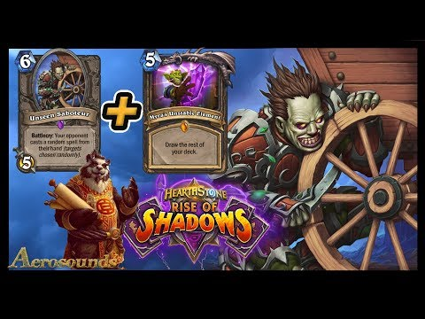 Destroy Your Opponent's Deck! Sabotage Mill Rogue - Rise Of Shadows Hearthstone