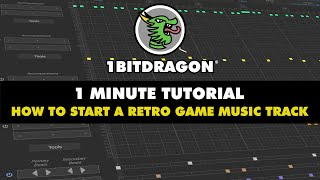 1 MINUTE TUTORIAL │ How to start a retro game music track (chiptune / 8-bit) screenshot 2