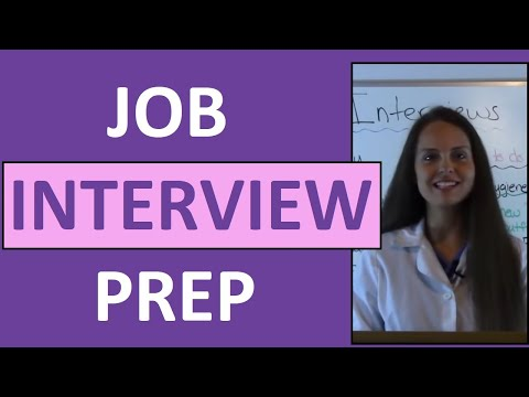 How to Prepare for Your Nursing Job Interview | Nurse Interview Tips