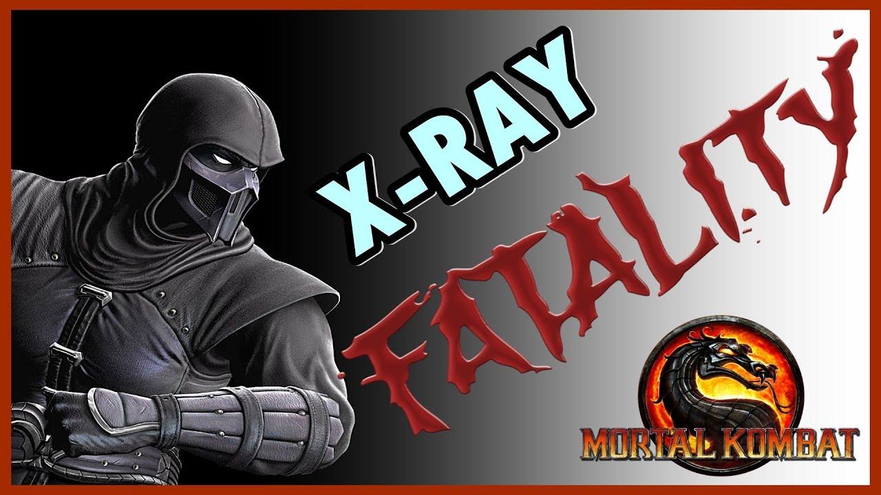 Mortal Kombat 9 Komplete Edition ( PS3 ) : Noob Saibot ( Fatalities + X-RAY  )