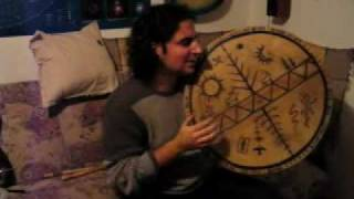 Repeat youtube video Táltos dobszó énekkel - Hungarian Shaman Drum With Chanting