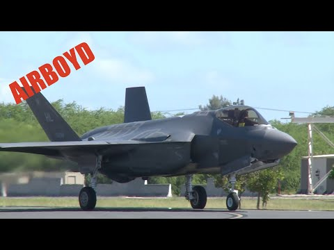 F-35A Arrives At Joint Base Pearl Harbor-Hickam